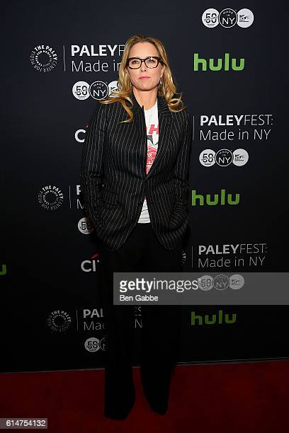 Actress Tea Leoni attends a sreening of Madam Secretary during PaleyFest New York at The Paley Center for Media on October 14 2016 in New York City