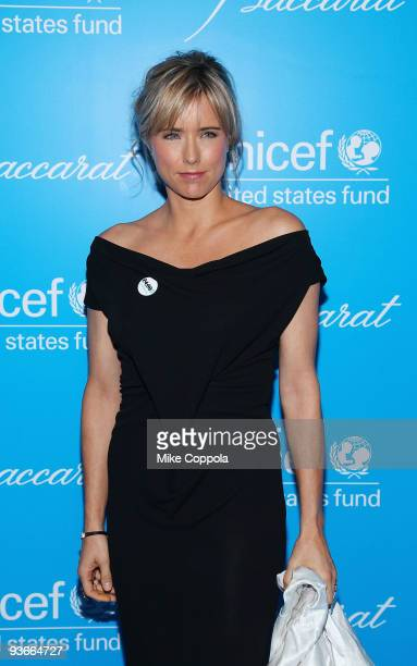 Actress Tea Leoni attends the 2009 UNICEF Snowflake Ball at Cipriani 42nd Street on December 2, 2009 in New York City.