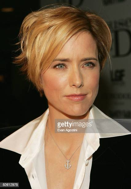 Actress Tea Leoni attends the House Of D film premiere at Loews Lincoln Square Theater April 10 2005 in New York City
