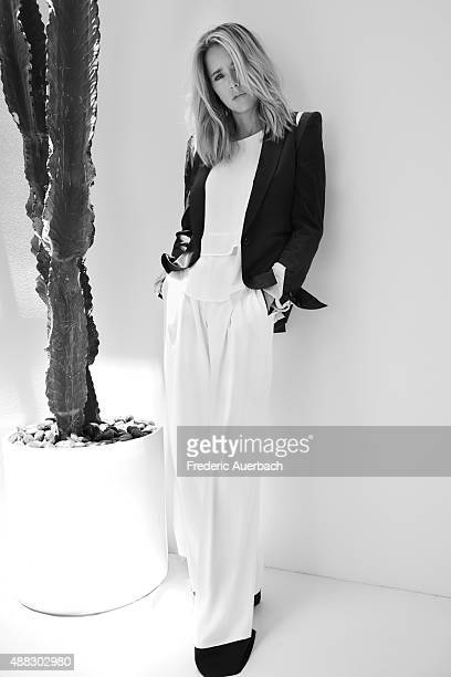 Actress Tea Leoni is photographed for Emmy Magazine on July 14 2015 in Los Angeles California