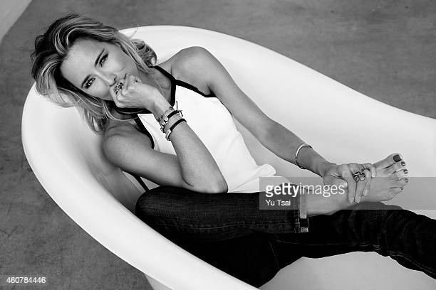 Actress Tea Leoni is photographed for Self Assignment on June 30 2014 in Los Angeles California