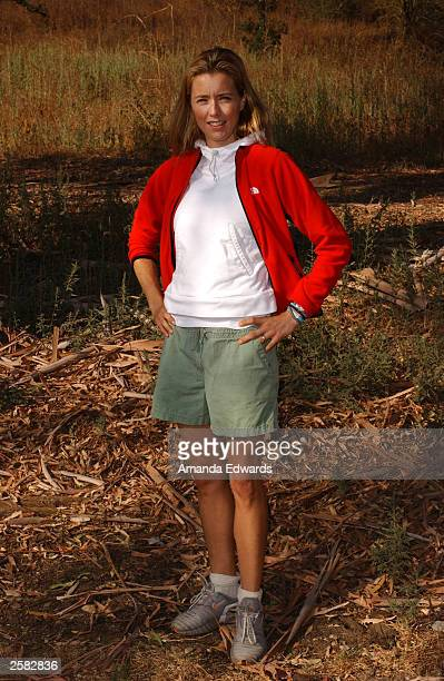 Actress Tea Leoni poses at the 8th Annual Expedition Inspiration TakeAHike at Paramount Ranch in the Santa Monica Mountains National Recreation Area...