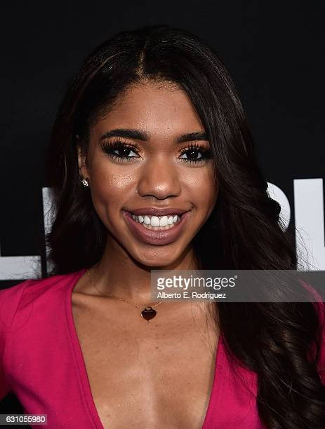 Actress Teala Dunn attends the Premiere of Open Road Films' Sleepless at Regal LA Live Stadium 14 on January 5 2017 in Los Angeles California