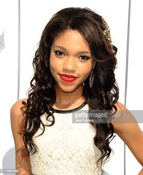 Actress Teala Dunn attends Variety's 7th annual Power of Youth event at Universal Studios Hollywood on July 27 2013 in Universal City California