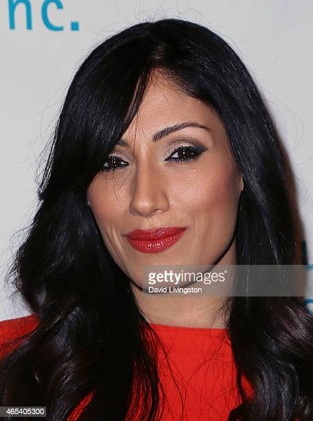 Actress Tehmina Sunny attends the 2nd Annual Hollywood Heals Spotlight On Tourette Syndrome at House of Blues Sunset Strip on March 5 2015 in West...