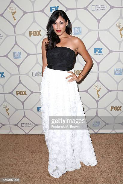 Actress Tehmina Sunny attends the 67th Primetime Emmy Awards Fox after party on September 20 2015 in Los Angeles California
