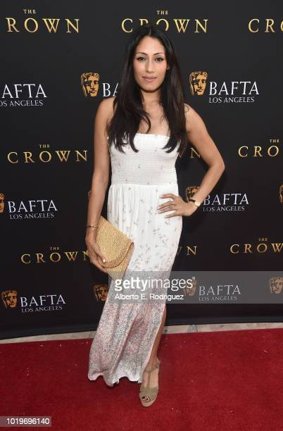 Actress Tehmina Sunny attends the BAFTALA Summer Garden Party at The British Residence on August 19 2018 in Los Angeles California