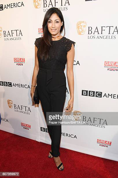 Actress Tehmina Sunny attends the BBC America BAFTA Los Angeles TV Tea Party 2016 at The London Hotel on September 17 2016 in West Hollywood...