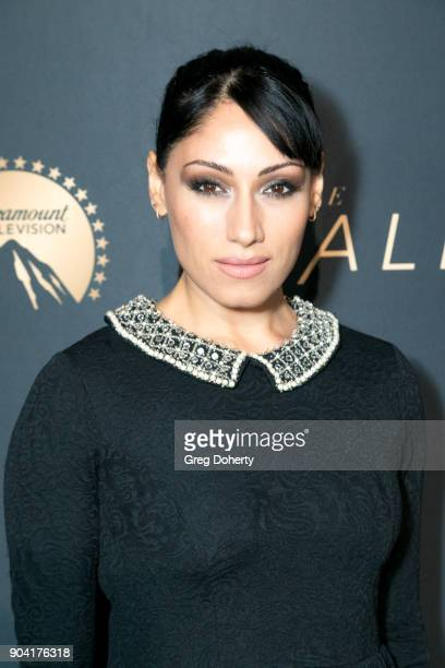 Actress Tehmina Sunny attends the Premiere Of TNT's The Alienist on January 11 2018 in Hollywood California