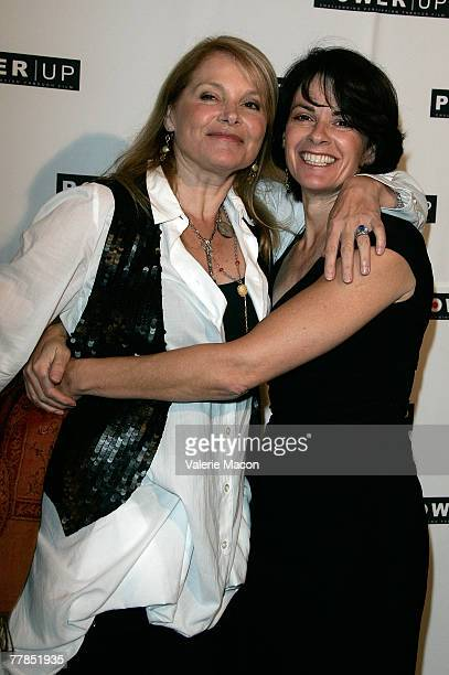 Actress television and film director Helen Shaver and actress Patricia Charbonneau arrive at the Power Premiere Awards honoring 10 Amazing Gay Women...
