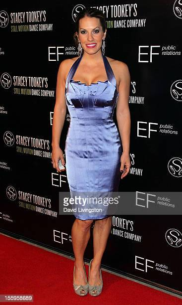 Actress Tenille Houston attends the opening night of Moments Defined at the Nate Holden Performing Arts Center on November 9 2012 in Los Angeles...