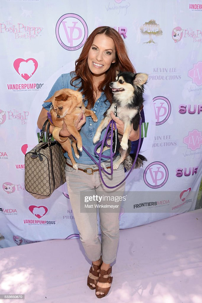 Actress Tenille Houston attends the World Dog Day Celebration at The City of West Hollywood Park on May 22, 2016 in West Hollywood, California.