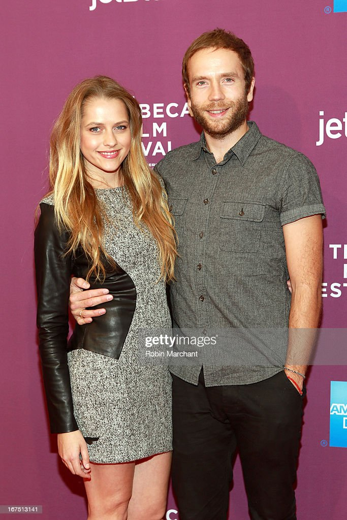 Actress Teresa Palmer and Actor Mark Webber attend 'The Motivation' World Premiere during the 2013 Tribeca Film Festival on April 25, 2013 in New York City.