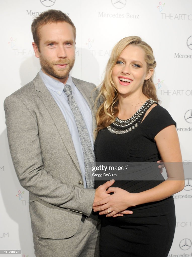 Actress Teresa Palmer and Mark Webber arrive at The Art of Elysium's 7th Annual HEAVEN Gala at the Guerin Pavilion at the Skirball Cultural Center on January 11, 2014 in Los Angeles, California.