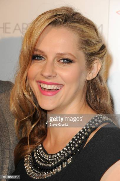 Actress Teresa Palmer arrives at The Art of Elysium's 7th Annual HEAVEN Gala presented by Mercedes-Benz at Skirball Cultural Center on January 11,...