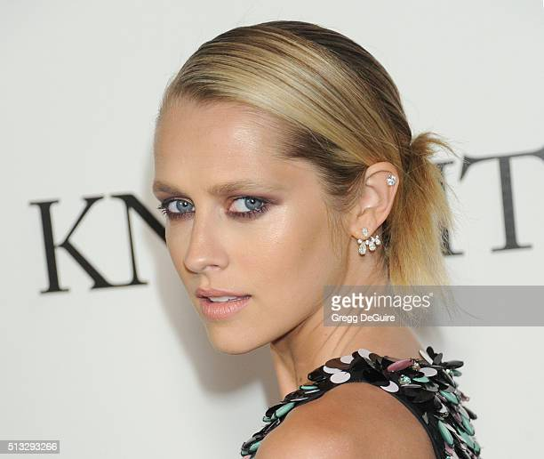 Actress Teresa Palmer arrives at the premiere of Broad Green Pictures' 'Knight Of Cups' on March 1 2016 in Los Angeles California