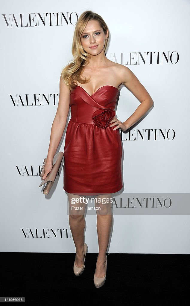 Valentino Rodeo Drive Flagship Opening : News Photo