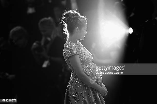 Actress Teresa Palmer attend the premiere of 'Hacksaw Ridge' during the 73rd Venice Film Festival at Sala Grande on September 4 2016 in Venice Italy