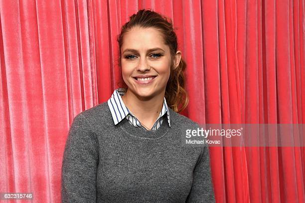 Actress Teresa Palmer attends Park City Live Presents The Hub Featuring The Marie Claire Studio and the 4K ULTRA HD Showcase Brought to You by the...