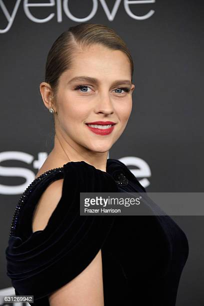 Actress Teresa Palmer attends the 18th Annual PostGolden Globes Party hosted by Warner Bros Pictures and InStyle at The Beverly Hilton Hotel on...