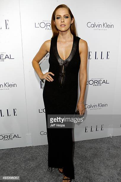 Actress Teresa Palmer attends the 22nd Annual ELLE Women in Hollywood Awards presented by Calvin Klein Collection L'Oréal Paris and David Yurman at...