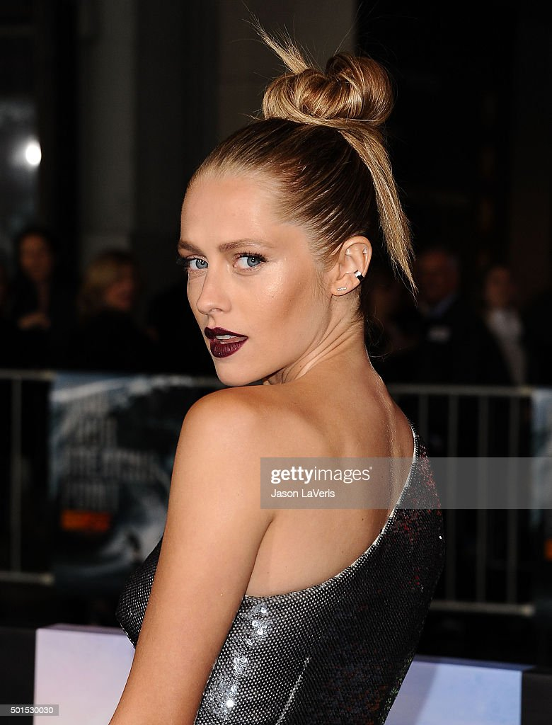 Actress Teresa Palmer attends the premiere of 'Point Break