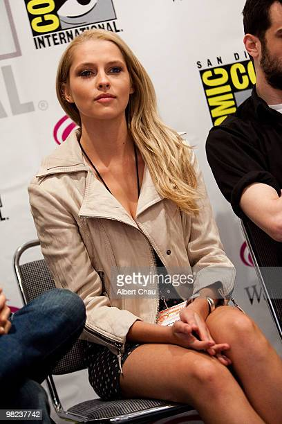 """Actress Teresa Palmer attends """"The Sorcerer's Apprentice"""" panel at the 2010 WonderCon - Day 2 at Moscone Center South on April 3, 2010 in San..."""