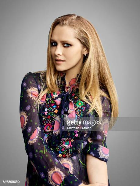 Actress Teresa Palmer from 'Lights Out' is photographed for Entertainment Weekly Magazine on July 21 2016 at Comic Con in the Hard Rock Hotel in San...