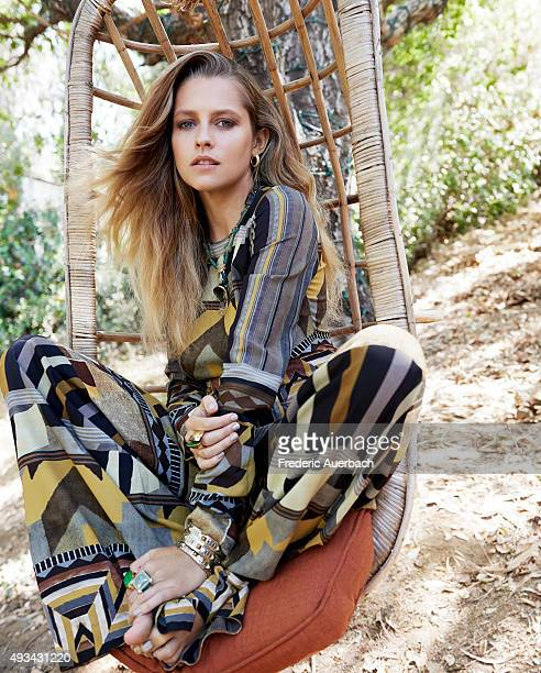 Actress Teresa Palmer is photographed for Los Angeles Magazine on July 11 2015 in Los Angeles California