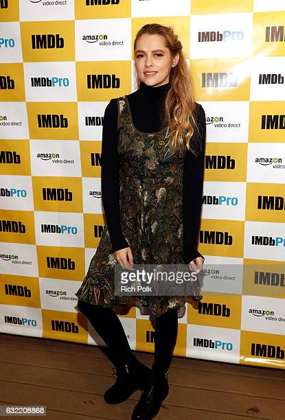 Actress Teresa Palmer of 'Berlin Syndrome' attends The IMDb Studio featuring the Filmmaker Discovery Lounge presented by Amazon Video Direct Day One...
