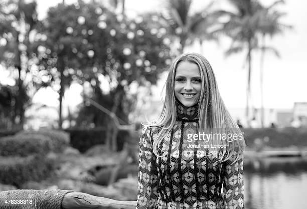 Actress Teresa Palmer recipient of the 2015 Maui Film Festival Rising Star Award poses for a portrait at the 2015 Maui Film Festival at Grand Wailea...