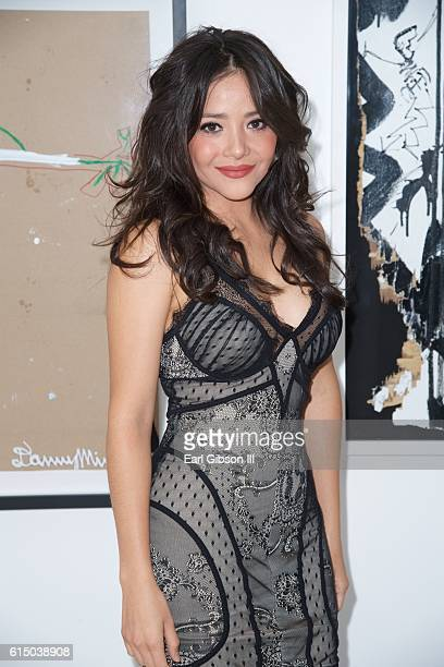 Actress Teresa Ruiz attends the 2016 120 Hour Film Festival PremiereArt Show at The Three Clubs on October 15 2016 in Hollywood California
