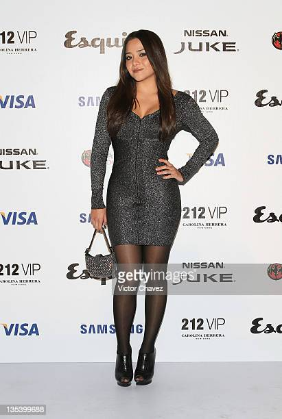 Actress Teresa Ruiz attends the Esquire Mexico Magazine 3rd Anniversary party at Bosque de Chapultepec on December 8 2011 in Mexico City Mexico