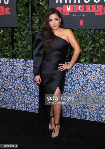 Actress Teresa Ruiz attends the Narcos Mexico Season 2 at Netflix Home Theater on February 06 2020 in Los Angeles California