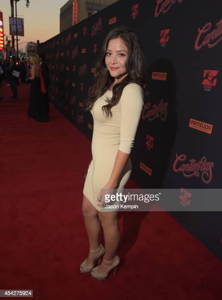 Actress Teresa Ruiz attends the premiere of Pantelion Film's Cantinflas at TCL Chinese Theatre on August 27 2014 in Hollywood California