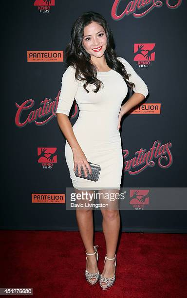 Actress Teresa Ruiz attends the premiere of Pantelion Films' Cantinflas at the TCL Chinese Theatre on August 27 2014 in Hollywood California