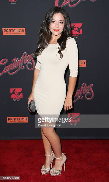 "Actress Teresa Ruiz attends the premiere of Pantelion Films' ""Cantinflas"" at the TCL Chinese Theatre on August 27, 2014 in Hollywood, California."