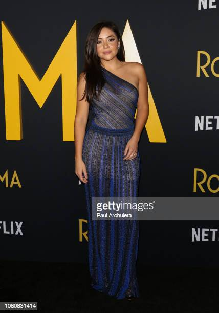 Actress Teresa Ruiz attends the premiere of Roma at the American Cinematheque's Egyptian Theatre on December 10 2018 in Hollywood California