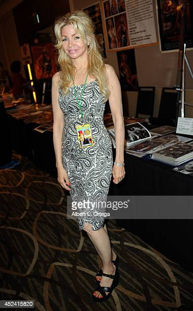 Actress Teri Copley at the The Hollywood Show held at Westin Los Angeles Airport on July 19 2014 in Los Angeles California