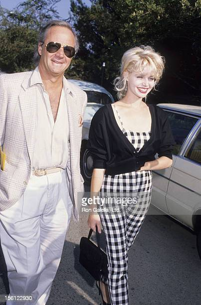 Actress Teri Copley attending 'Fundraiser for Lisa Specht' on September 24 1988 at Don Henley's home in Los Angeles California