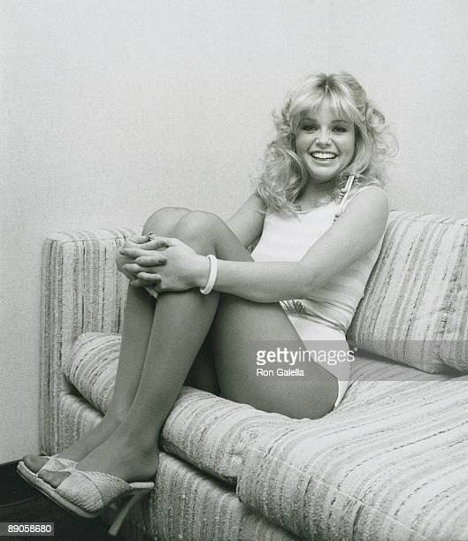 Actress Teri Copley attending the taping of 'Bob Hope Spring Fling of Glamour and Comedy' on April 5 1981 at NBC Studios in Burbank California