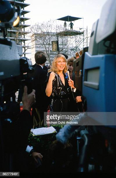 Actress Teri Garr arrives to the 55th Academy Awards at Dorothy Chandler Pavilion in Los AngelesCalifornia
