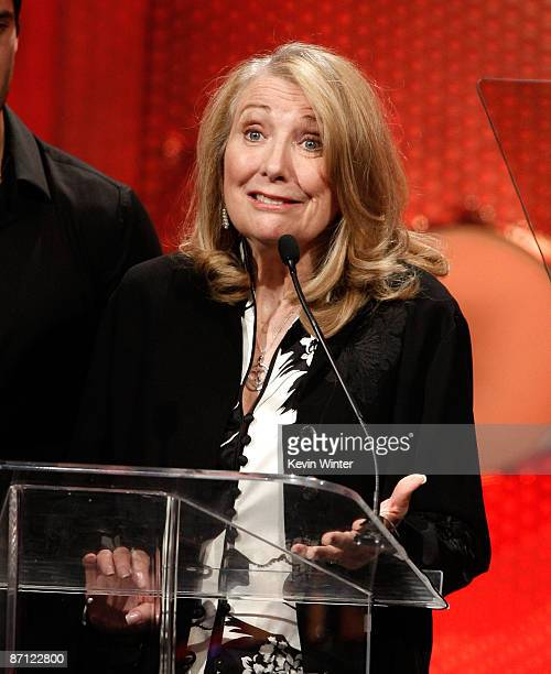 Actress Teri Garr onstage during the 16th Annual Race To Erase MS event cochaired by Nancy Davis and Tommy Hilfiger at the Hyatt Regency Century...