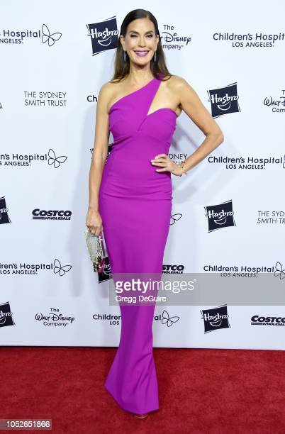 Actress Teri Hatcher arrives at the 2018 From Paris With Love Children's Hospital Los Angeles Gala at LA Live Event Deck on October 20 2018 in Los...