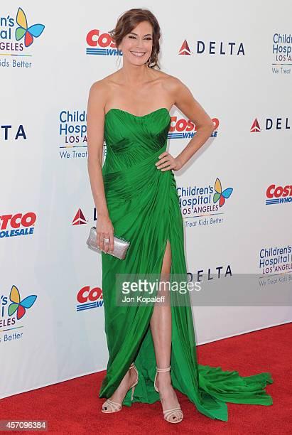 Actress Teri Hatcher arrives at the Children's Hospital Los Angeles Gala Noche de Ninos at LA Live Event Deck on October 11 2014 in Los Angeles...