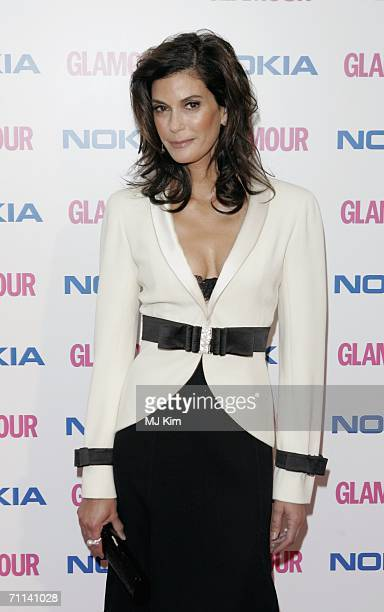 Actress Teri Hatcher arrives at the Glamour Women Of The Year Awards the annual awards recognising the achievement of women with categories including...