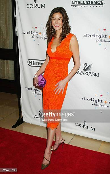 Actress Teri Hatcher arrives to A Stellar Night Starlight Starbright Childrens Foundation Gala in honor of Chairman Emeritus Steven Spielberg at The...