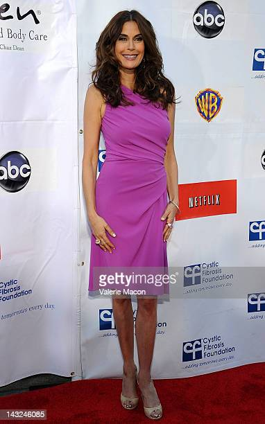 Actress Teri Hatcher attends 2nd Annual Wisteria Lane Block Party at Universal Studios Backlot on April 21 2012 in Universal City California