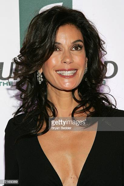 Actress Teri Hatcher attends the 3rd Annual Women's World Awards at Hammerstein Ballroom October 14 2006 in New York City