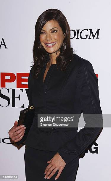 Actress Teri Hatcher attends the Desperate Housewives Premiere Party on October 3 2004 at Barney's in Beverly Hills CA